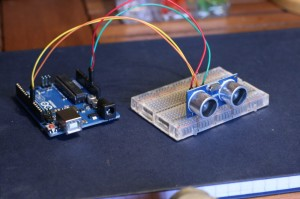 Arduino and HC-SR04 ultrasonic module